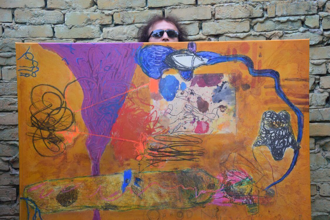 Marek Marchwicki - artysta z obrazem