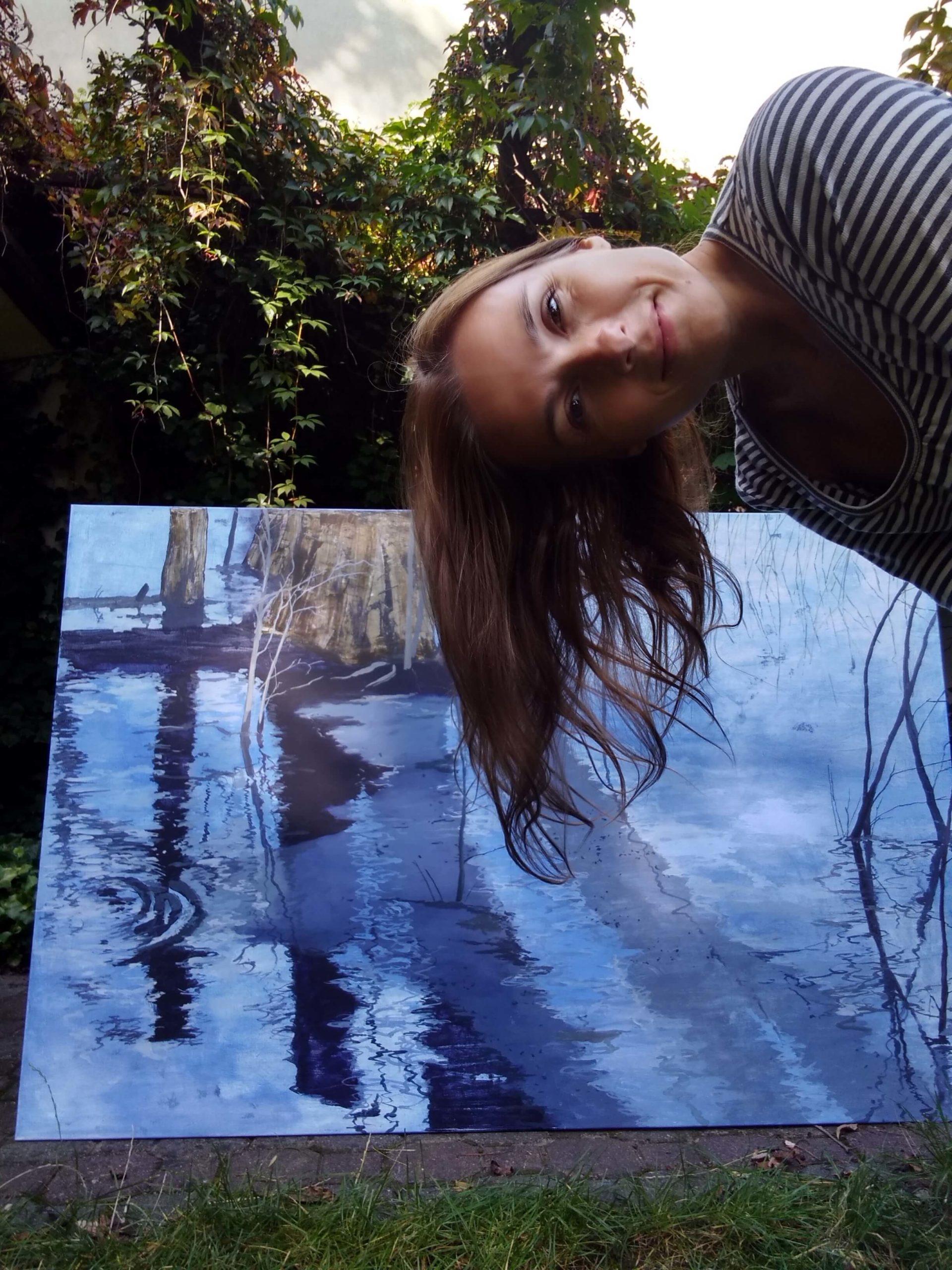 Izabela Kita - podczas tworzenia