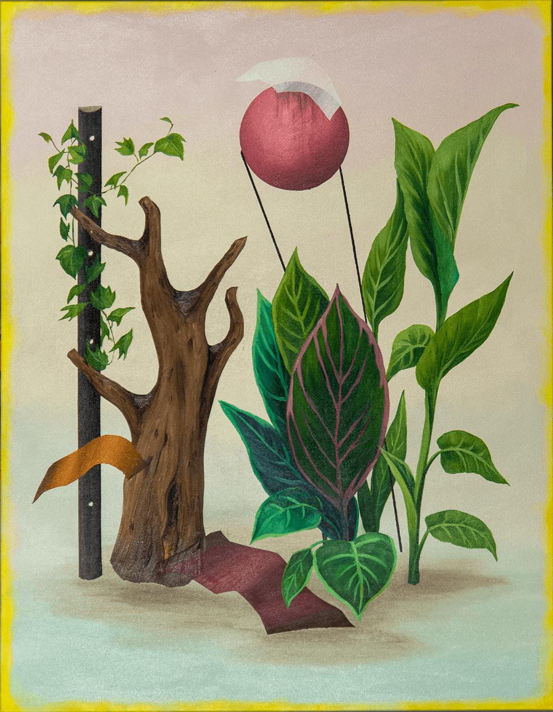 Joanna Mlacka_Martwa natura z korzeniem