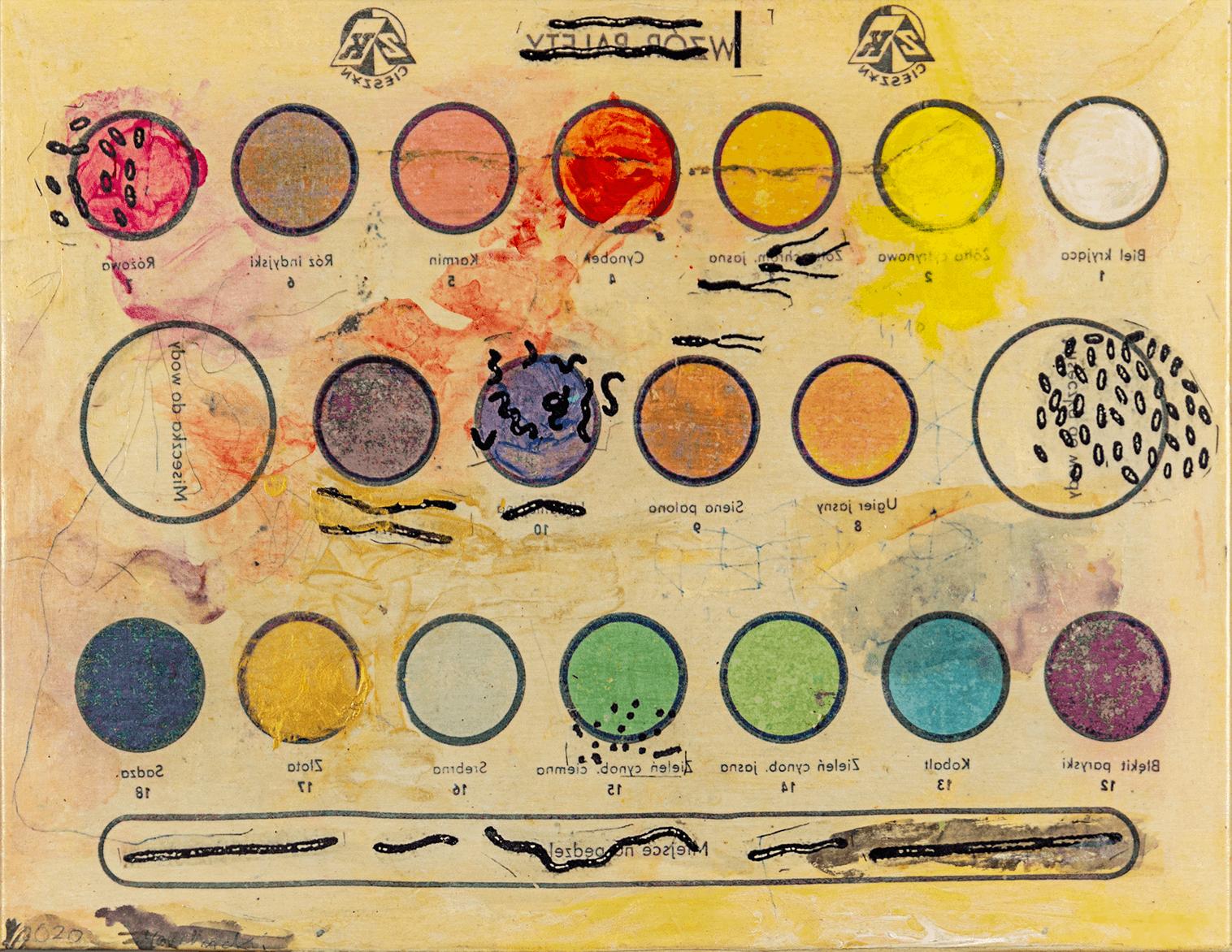 Marek Marchwicki_Zainfekowana paleta kolorow