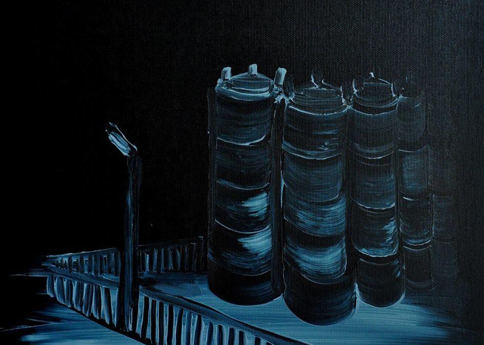 """Zaproszenie na wystawę Michała Gątarka """"ANTYNATALIZM odsłona druga""""   02.03-31.03.2021"""
